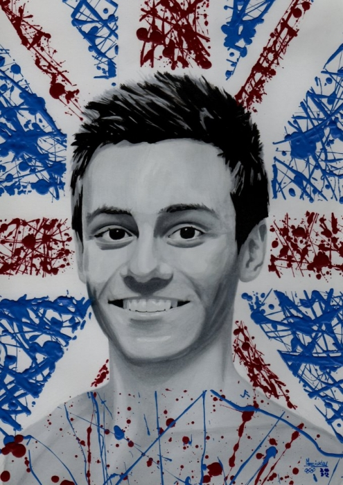Tom Daley by Markbickley